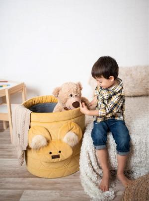 Teddy Toy basket Triangles...