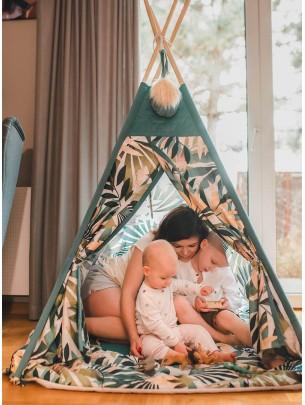 Pow-Wow Tipi Tent Jungle