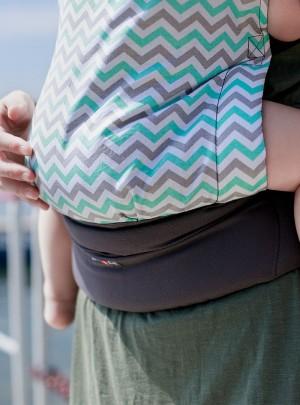 Babytrage Basic: Turquoise...